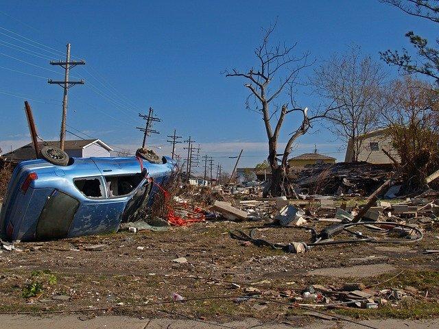 New Orleans Storm Damage